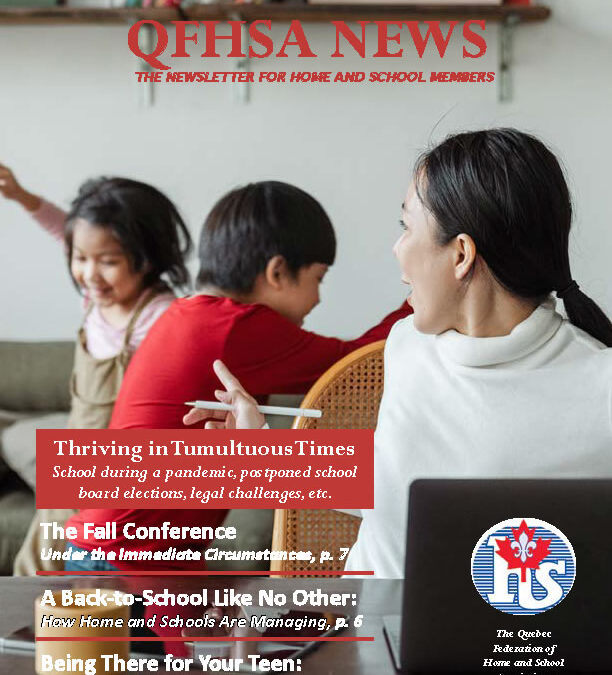 QFHSA Fall 2020 Newsletter