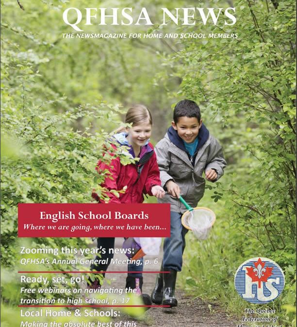 QFHSA Spring 2021 Newsletter