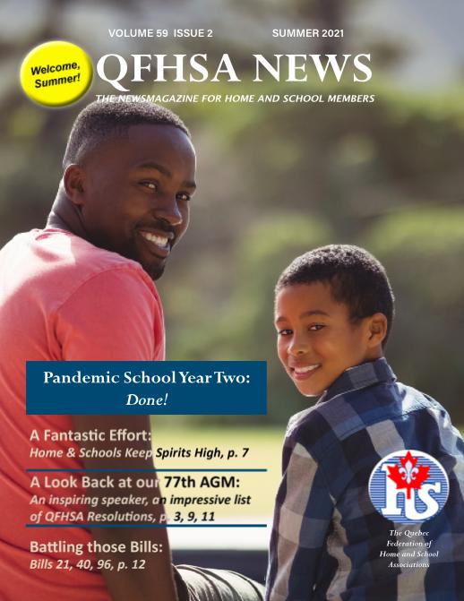 QFHSA Summer 2021 Newsletter